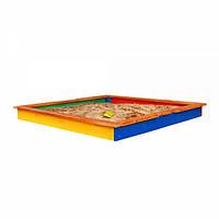 Детская деревянная песочница  для детей Песочница для детей-7