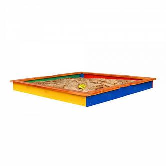 """Детская деревянная песочница  """"Песочница-7"""", фото 2"""