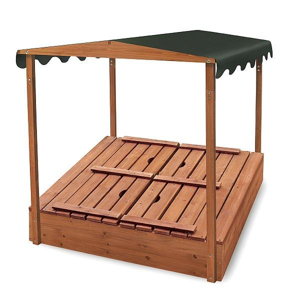 """Детская деревянная песочница """"Песочница-4"""""""