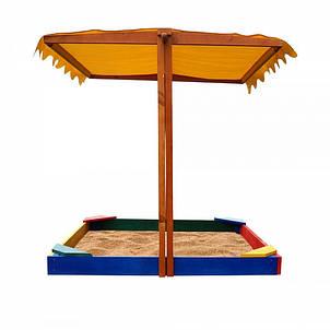 """Детская деревянная песочница """"Песочница- 23"""", фото 2"""