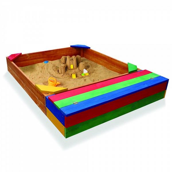 """Детская деревянная песочница """"Песочница-6"""""""