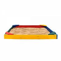 Детская деревянная песочница  для детей Песочница ракушка-15