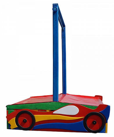 """Детская деревянная песочница """"Песочница машинка-12"""", фото 2"""