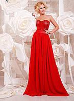Женское нарядное вечернее платье в пол с пайеткой (9 цветов), фото 1