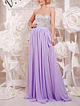 Женское нарядное вечернее платье в пол с пайеткой (9 цветов), фото 7
