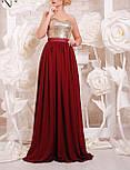 Женское нарядное вечернее платье в пол с пайеткой (9 цветов), фото 9