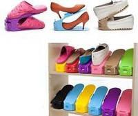 Подставка под обувь, двойная стойка для обуви