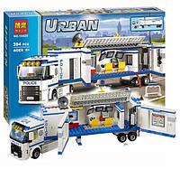 """Конструктор Bela 10420 (аналог Lego City 60044) """"Мобильный отряд полиции"""", 394 деталей"""