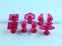 Выемка пластиковая прозрачная - Орхидея Цимбидиум - 8 деталей