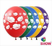 """Воздушные шарики Маки 12"""" (30 см)  ТМ Show"""