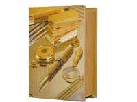 Стильная книга - сейф подарок для бизнесмена