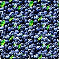 Ткань для штор ягоды
