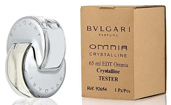 Тестер  Bvlgary Omnia Crystalline (Булгари омния кристалин), женская туалетная вода