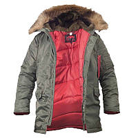 Куртка зимова Аляска Slim Fit N3B олива CHAMELEON