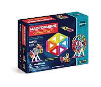 Магнитный конструктор Карнавал, 46 элементов, Фантазер, Magformers