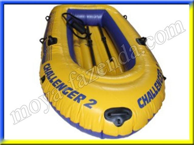 Човен Challenger на 2 людини (з насосом і веслами)