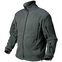 Флисовая мужская куртка / Куртка флісова LIBERTY темно-сіра HELIKON