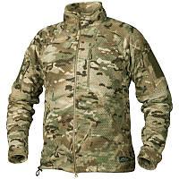 Камуфляж и военные куртки / Куртка флісова ALPHA TACTICAL мультикам HELIKON
