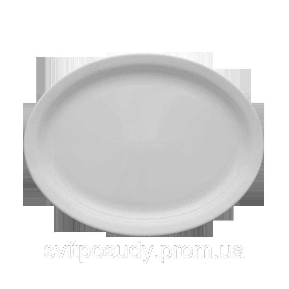 Блюдо овальное 290 мм Lubiana  Польша  фасон AMERYKA