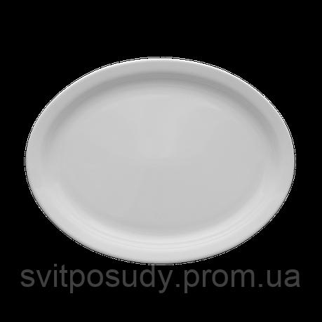 Блюдо овальное 290 мм Lubiana  Польша  фасон AMERYKA, фото 2