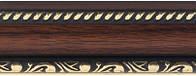 Фоторамка 20х30 см. коричневая с обрамлением, багет SA 2915-13, фото 1