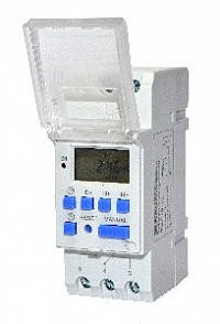 Таймер недельный электронный THC15-TC (прозрачная крышка)