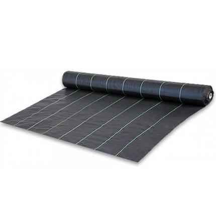 Агроткань черная UV, 100 гр/м² - 3,2 x 100м, фото 2