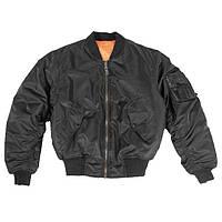 Куртка МА1 чорна Mil-Tec