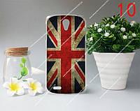 Пластиковый бампер панель накладка чехол на Lenovo S820 с рисунком Британский флаг