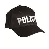 Бейсболка Police чорна Mil-Tec, фото 1
