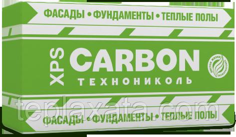 ТехноНиколь XPS CARBON ECO Пенополистирол 40 мм