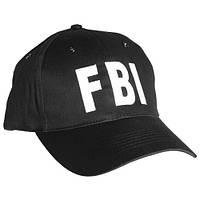 Бейсболка FBI чорна Mil-Tec