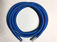 Текстильный провод (77 синий)