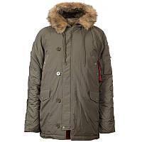 Куртка зимова Аляска N3B олива CHAMELEON
