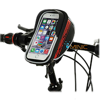 """Велосипедная сумка на руль для смартфона BaseCamp BC-305 L до 5.5"""""""