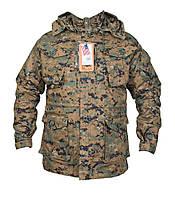 Куртка тактическая демисезонная Digital Woodland Chameleon, фото 1