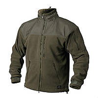 Куртки тактические демисезонные / Куртка флісова CLASSIC ARMY олива HELIKON
