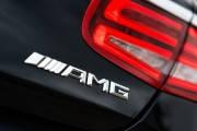 Эмблема, Шильдик Mercedes  AMG надпись на крышку багажника