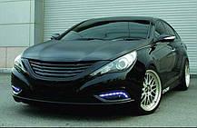 Дневные ходовые огни LED (DRL) - Hyundai YF Sonata / i45 (GOGOCAR), фото 3