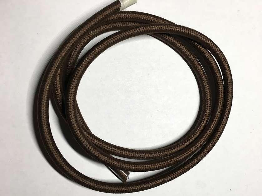 Текстильный провод (77 коричневый)