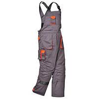 Полукомбинезон TX17 XL, Серый/оранжевый