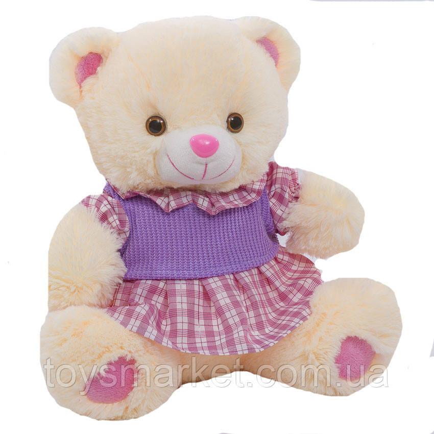 Детская мягкая игрушка, плюшевый мишка Краля,белый