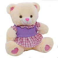 Детская мягкая игрушка, плюшевый мишка Краля,белый, фото 1
