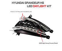 Дневные ходовые огни Power LED (DRL) - Hyundai Grandeur HG / Azerra (MOTORSPY), фото 2