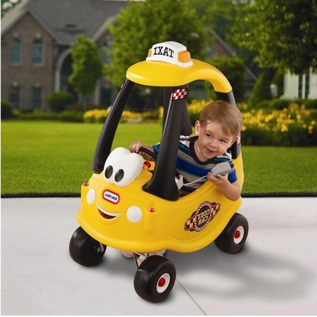 Машинка самоходная Такси Little Tikes 172175. Машинка детская