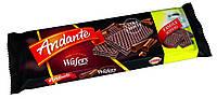 Вафли черным шоколадом Andante Extra Choco 130g.