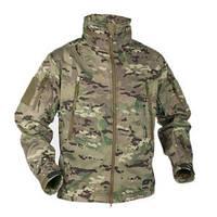 Куртка мультикам / Куртка Soft Shell GUNFIGHTER Мультикам HELIKON