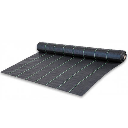 Агроткань черная UV, 90 гр/м² - 1,6 x 100м, фото 2