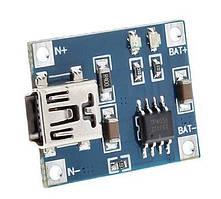 Контролер заряду на TP4056 вхід mini USB