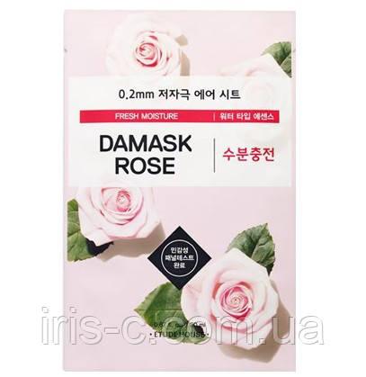 Тонкая тканевая маска для зрелой кожи ETUDE HOUSE 0.2 Therapy Air Mask Damask 20мл